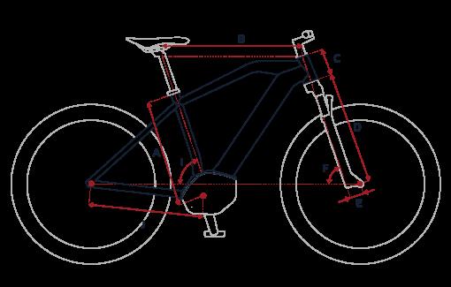 Geometria Peugeot eM02 Powertube