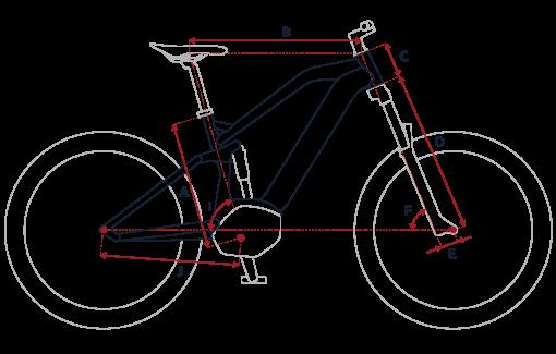 Geometria Peugeot eM02FS Powertube