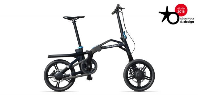 Vélo pliant électrique Peugeot