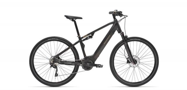 Vélo tout chemin électrique tout suspendu à batterie intégrée Peugeot eT01 FS