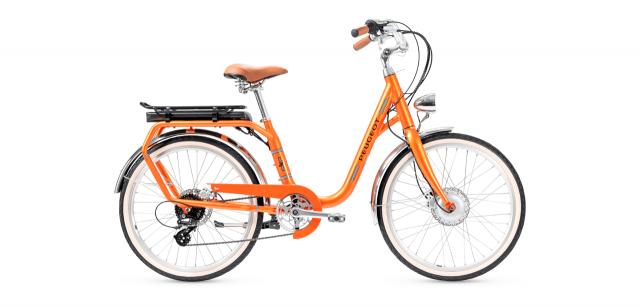 Vélo électrique PEUGEOT eLC01 orange