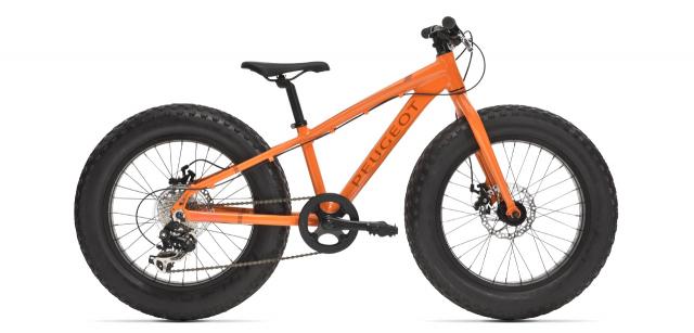 Fat bike enfant Peugeot JFB20 orange