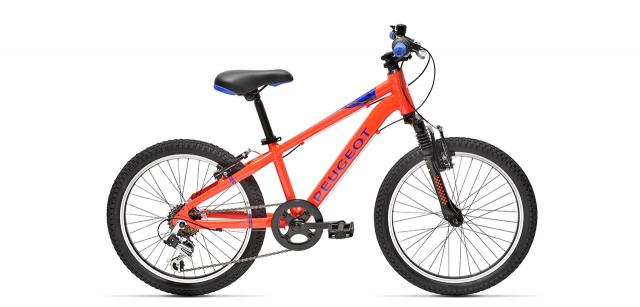 VTT enfant Peugeot JM20 orange et bleu