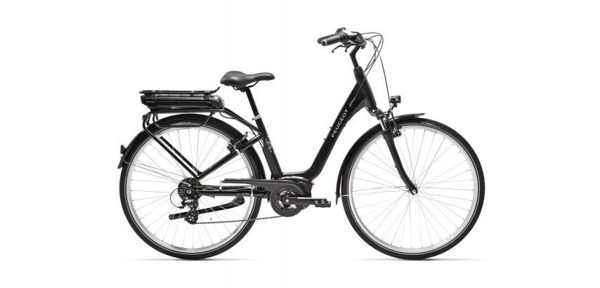 Vélo électrique de ville Peugeot eC02 équipé d'une motorisation Bosch Active Line