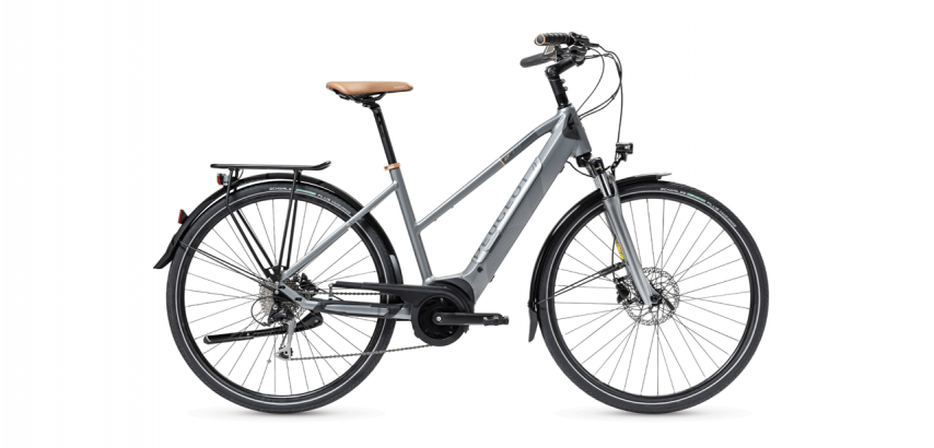 Vélo de Trekking électrique mixte PEUGEOT eT01 D9 Mixte PowerTube