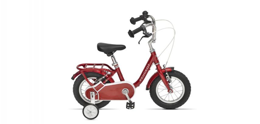 Vélo de ville enfant vintage Peugeot Legend LJ12 rouge