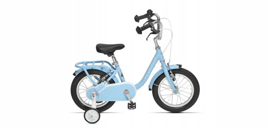 Vélo de ville enfant vintage Peugeot Legend LJ14 bleu
