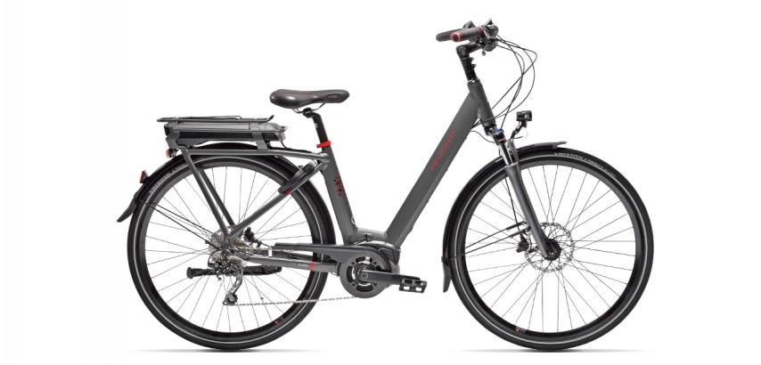 Vélo de ville électrique Peugeot eC01 D10 Plus