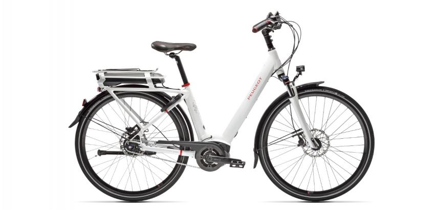 Vélo de ville électrique Peugeot eC01 Nexus 7 disc